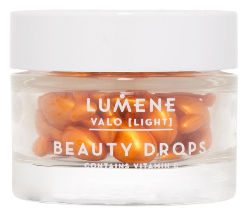 Lumene Valo [Light] Facial Serum In Capsules